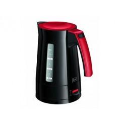 Melitta ENJOYAQUA Waterkoker 1,7L 2400W Zwart/Rood