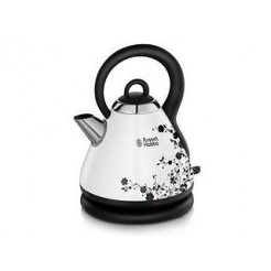 Russell Hobbs 1851270 Cottage Floral Waterkoker 1,8L 2300W Wit/Zwart