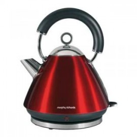 Morphy Richards 43857 Accents Waterkoker Red - Waterkoker, 2200 W, Inhoud 1,5 Liter