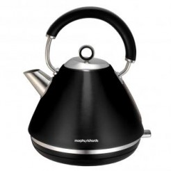 Morphy Richards ACCENTS Zwart - Waterkoker Pyramide, 2200 Watt